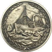 Medal - 90th birthday of the Lloyd Brasileiro – reverse