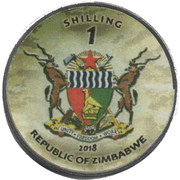 1 Shilling (Challenger 2) – obverse
