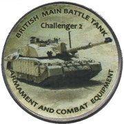 1 Shilling (Challenger 2) – reverse
