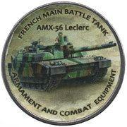 1 Shilling (AMX-56 Lecrec) – reverse
