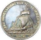 Medal - Escape of the Dutch fleet to Vlaarding – obverse