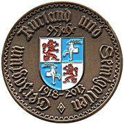 1 Goldmark (Wilhelm II) – obverse