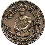 1 Goldmark (Wilhelm II) – reverse
