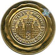 Token - Bad Frankenhausen (Kreisheimatmuseum Bauernkriegs Gedenkstatte) – reverse