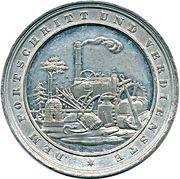 Medal - Dem Fortschritt und Verdienste (Eger) – obverse