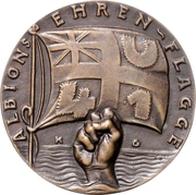 Medal - The sinking of 'U.41' by Q-ship 'Baralong' – obverse
