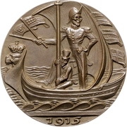 Medal - Abuse of neutral flags – obverse