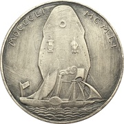 Medals - 100th anniversary Compagnie des Messagerie Maritimes – reverse