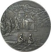Medal - Rowing regatta in Montreux – obverse