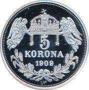 5 Korona (Bela IV) – reverse