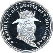 5 Korona (Karolus I) – obverse