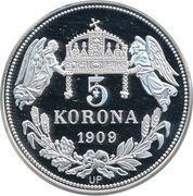 5 Korona (Karolus I) – reverse