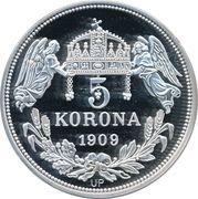 5 Korona (Venceslaus) – reverse