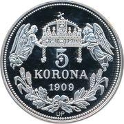 5 Korona (Stephanus I) – reverse