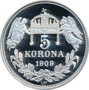 5 Korona (Andreas I) – reverse