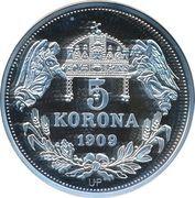 5 Korona (Ferdinandus III) – reverse