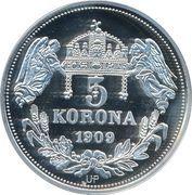 5 Korona (Salomoni) – reverse