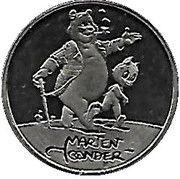 ECU - Beatrix (Marten Toonder) -  reverse
