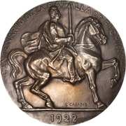 Medal - Centenary of the Battle of Pichincha – obverse