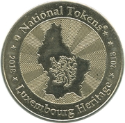 National Tokens Luxembourg Heritage - Luxembourg – reverse