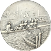 Medal - Rowing regatta – obverse