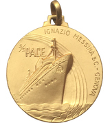Medal - Ignazio Messina & Co. (Nave SS Pace) – obverse