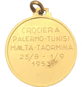 Medal - Ignazio Messina & Co. (Nave SS Pace) – reverse