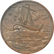 Medal - 1927 Detroit 14th National Foreign Trade Convention – reverse