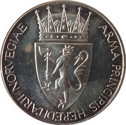 Medal - Harald and Sonja wedding – reverse