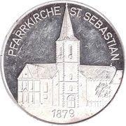 Token - Grossgemeinde Eppelborn (Pfarrkirche St. Sebastian) – reverse