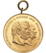 Medal - Completion of the Cologne cathedral – obverse