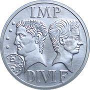 2000 years of Raetorum court Commemorative Medallion – obverse