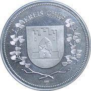 District of Chur Switzerland medallion – obverse