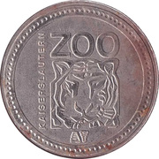 Token - Kaiserslautern Zoo – reverse