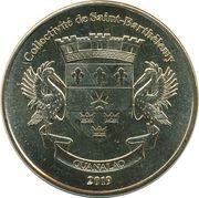1 Franc (Cocker Spaniels) – obverse