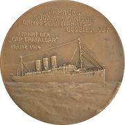 """Medal - SMS """"Cap Trafalgar"""" – reverse"""