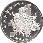 1 Dollar (European Currency - France) – obverse