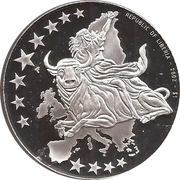 1 Dollar (European Currency - Germany) – obverse