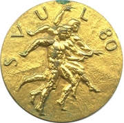 Medal - SVUL 80 – obverse