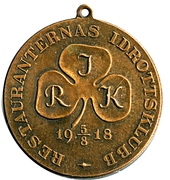 Medal - Restauranternas Idrottsklubb – obverse