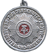 Medal - For the protection of workers and peasants – obverse
