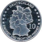 10 Euro (Robert Schumann) – obverse
