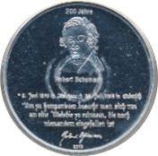 10 Euro (Robert Schumann) – reverse