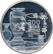 10 Euro (Porcelain Manufacturing) – reverse