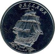 1 Dollar (Pallada) – reverse