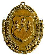 Medal - Västmanlands skytteförbund fältskyttemärke – obverse