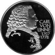 20 ECU (Carl Von Linne) – obverse