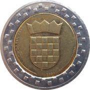 2 Xeros (Croatia Euro Fantasy Token) – obverse