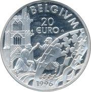20 Euro - Albert II – reverse
