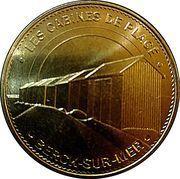 Monnaie de Paris Tourist Token - Berck-sur-Mer (Les cabines de plages) – obverse